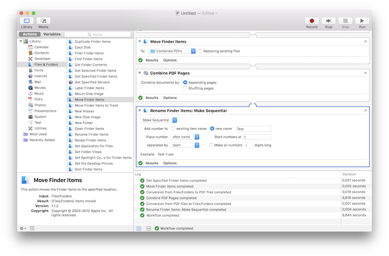 How to combine multiple png files into one. The best automator scripts