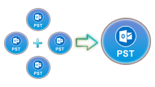 Merge multiple pst in. How to combine png files into one
