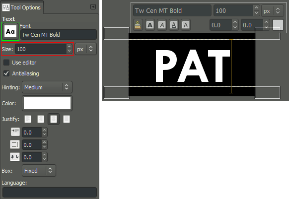 How to make gimp files into png. Simple floating logo enter