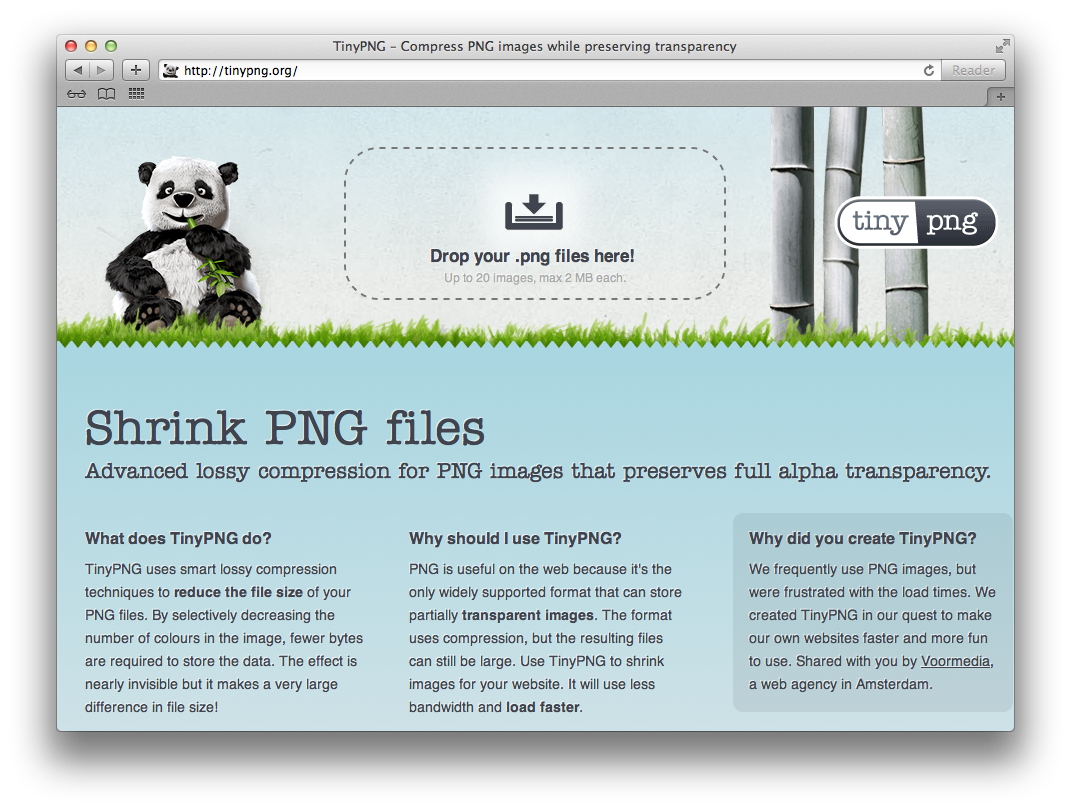 How to make png files. Shrink while retaining transparency