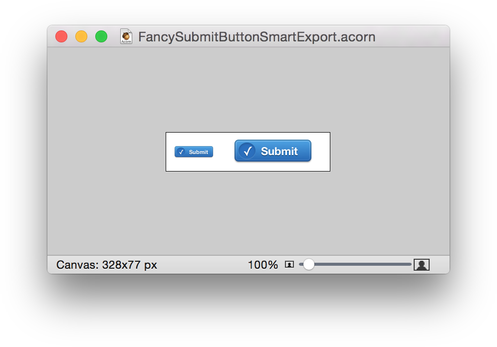 How to make png files smaller. Acorn smart layer export