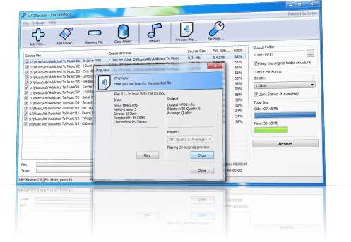 Reduce mp file size. How to make png files smaller