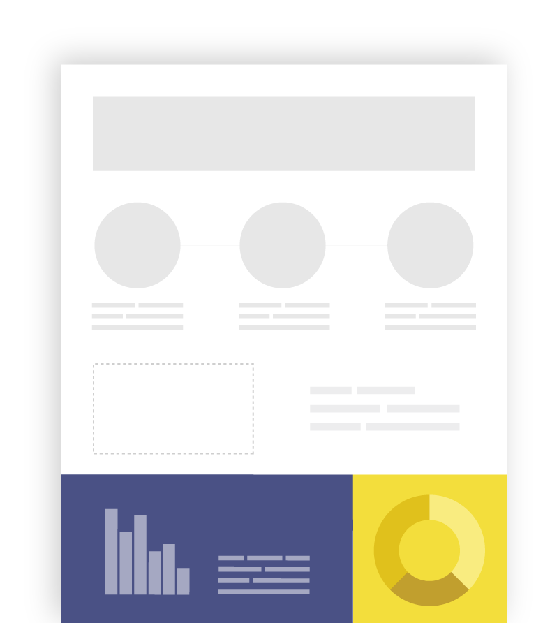 Free infographics reports charts. How to make png images