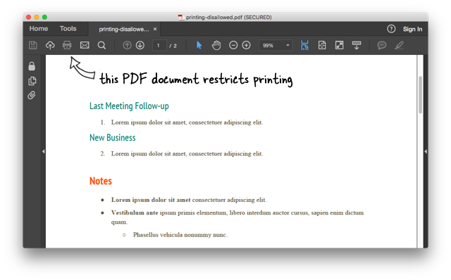 Password protected pdf and. How to print png files