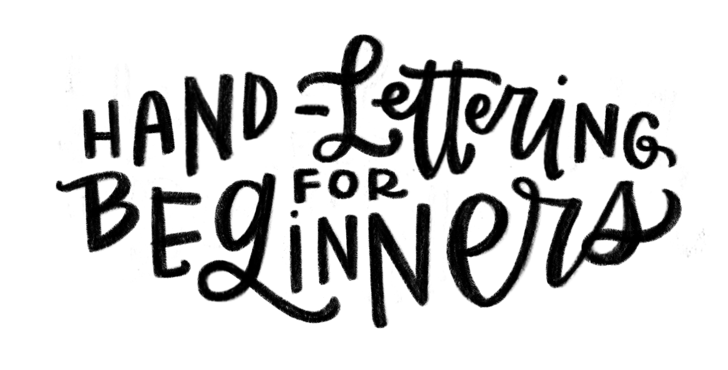 Hand lettered sketch digital. How to turn a png into a vector