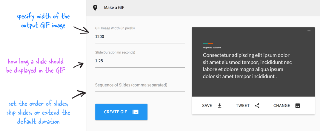 How to turn a png into a vector. Create gif from convert