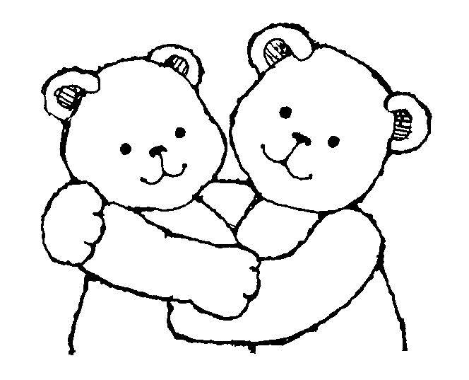 Hug clipart. Free hugs share bear