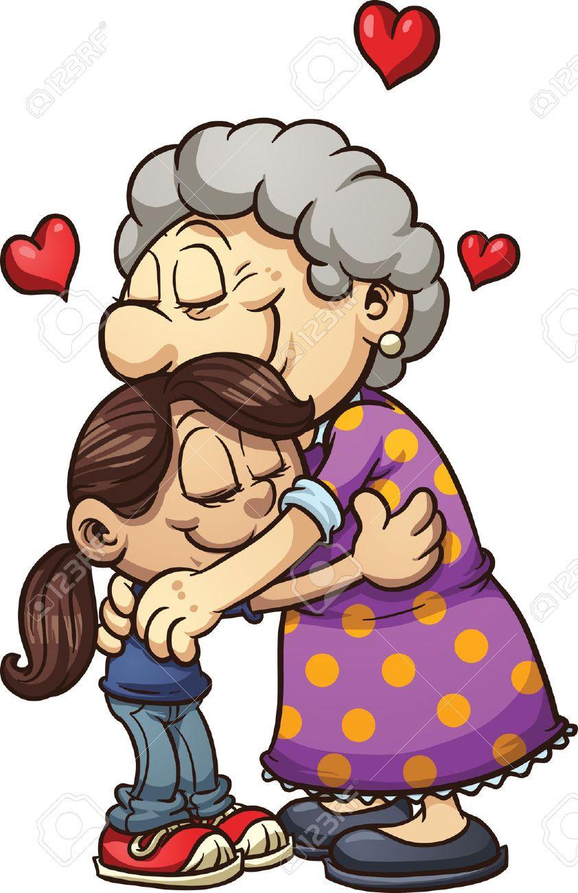 Hug jokingart com download. Grandma clipart