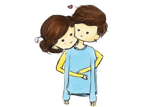 Free images cartoons download. Hugging clipart back hug