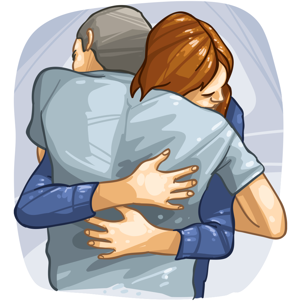 Hugs wallabee collecting and. Hugging clipart back hug