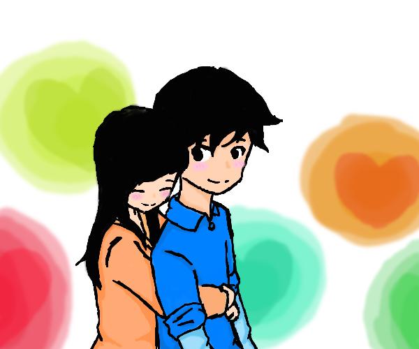 Hugging clipart back hug. Free download best on