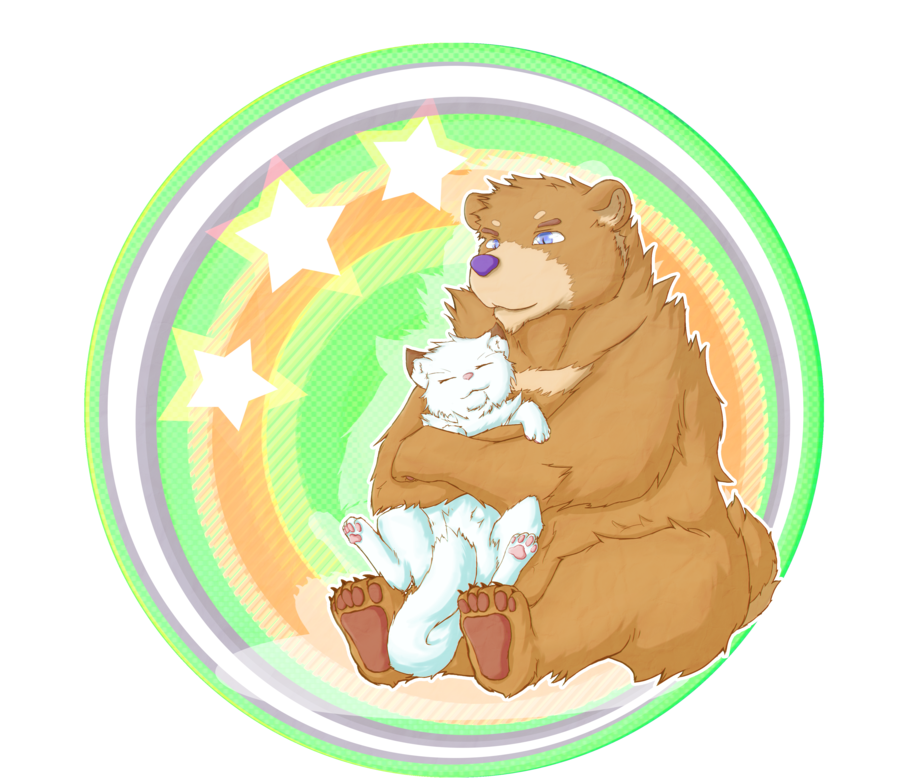 Collaboration bear hugs by. Hugging clipart hug tree