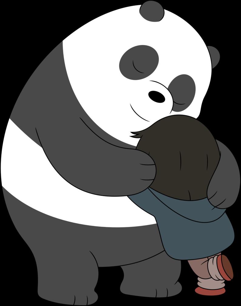 Hug clipart bear hug. By porygon z on
