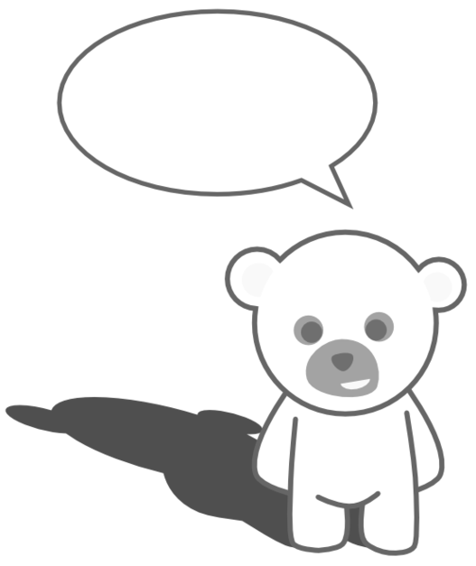 Teddy bear in free. Hug clipart black and white
