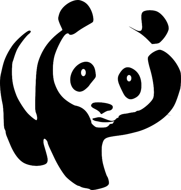 Hug clipart black and white. Image panda hugs png