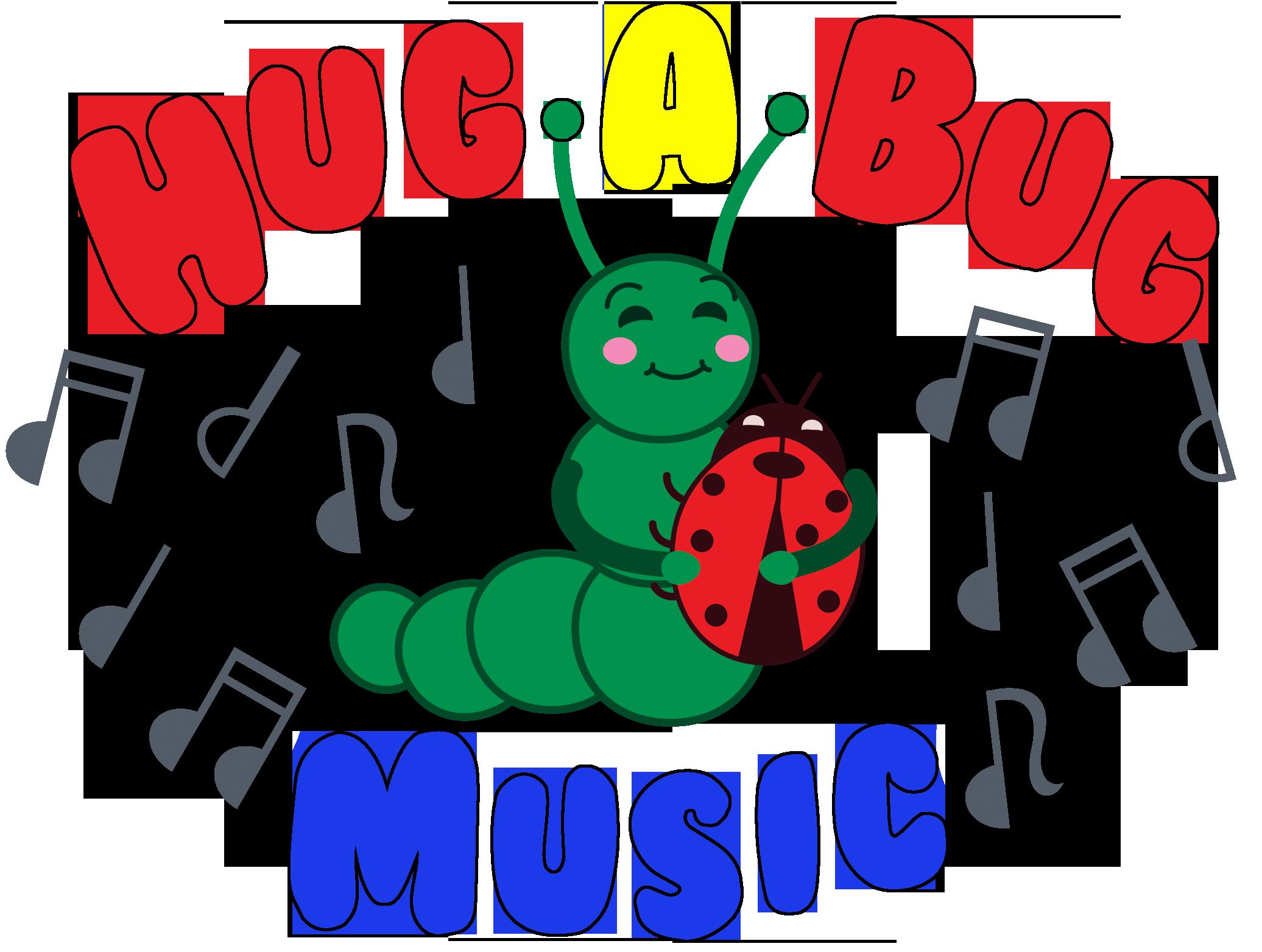 About a music hugabug. Hug clipart bug