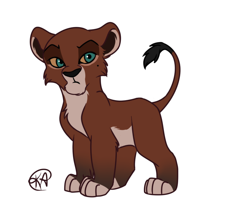 Uru by katterson on. Hugging clipart cub