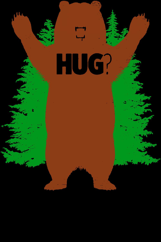 Custom bear hug reworked. Hugging clipart cub