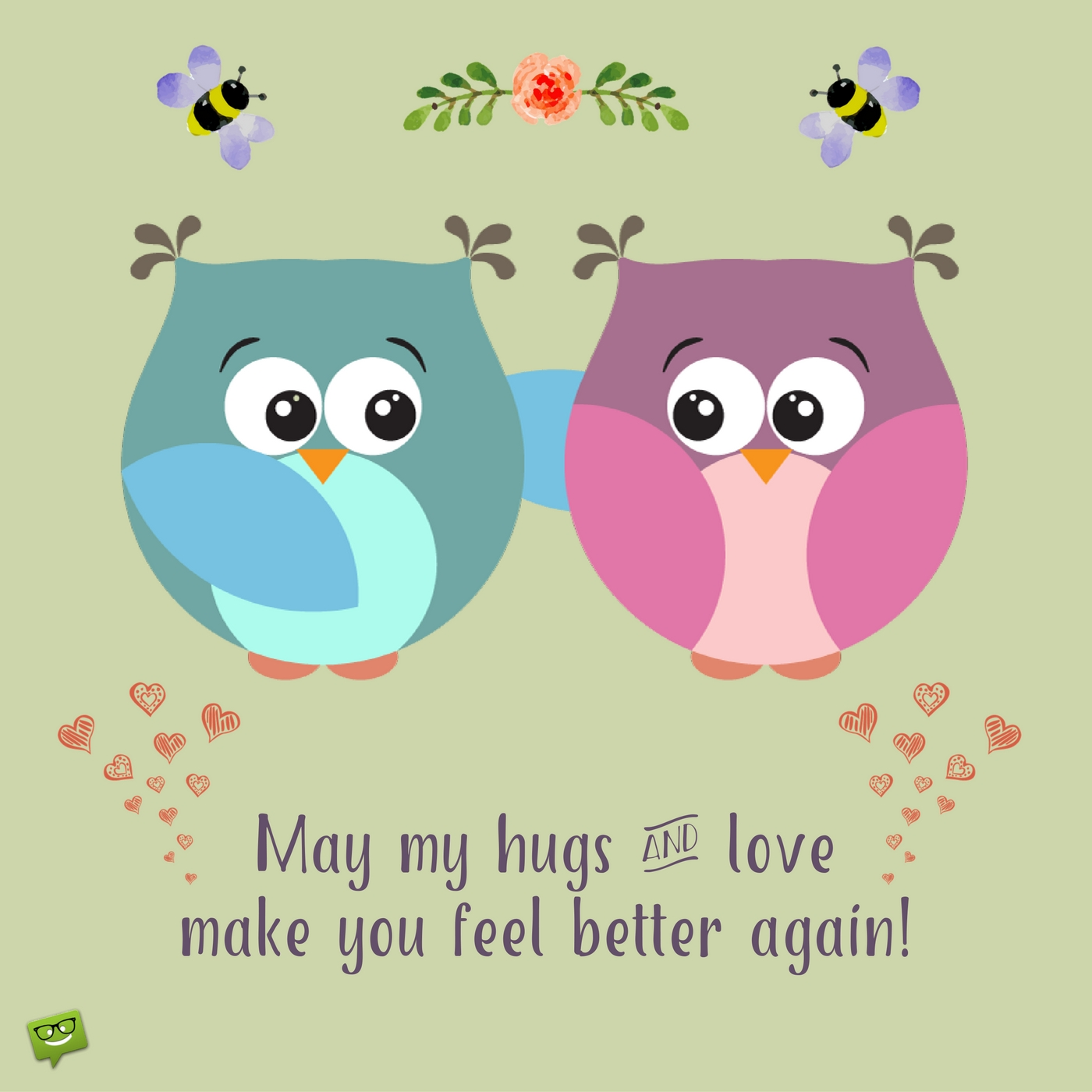 Hugging clipart feel good. Free healing wishes cliparts