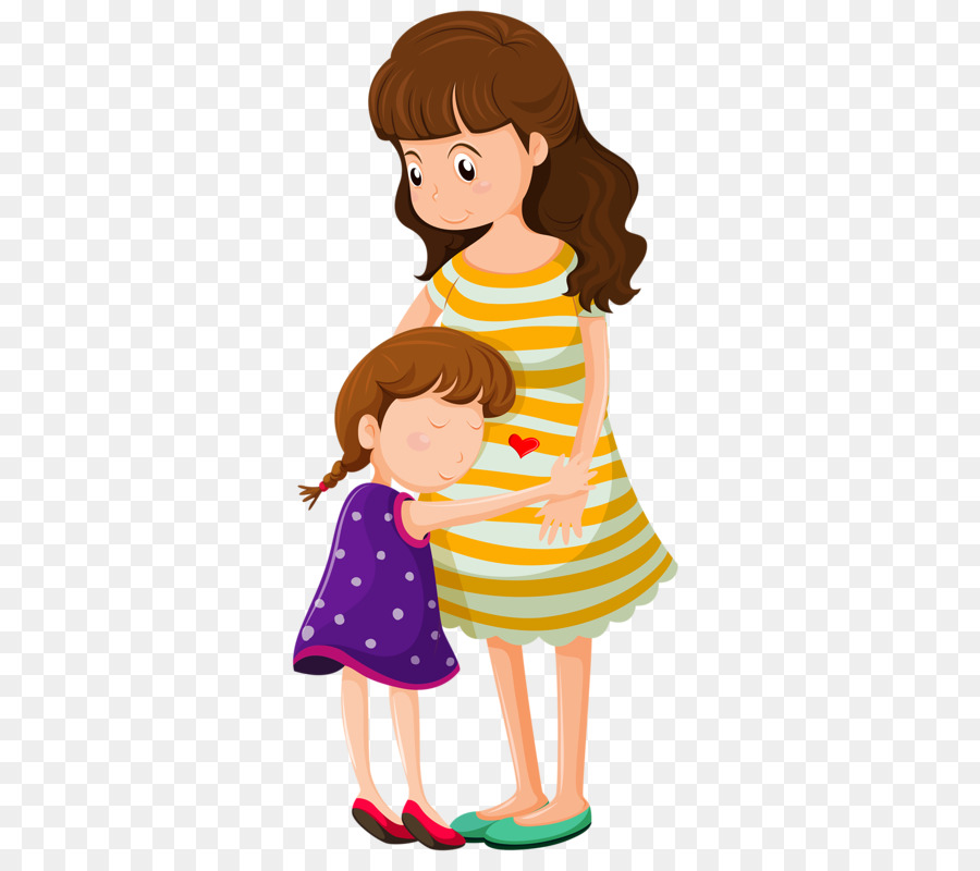 Mother clipart child free. Hug clip art png