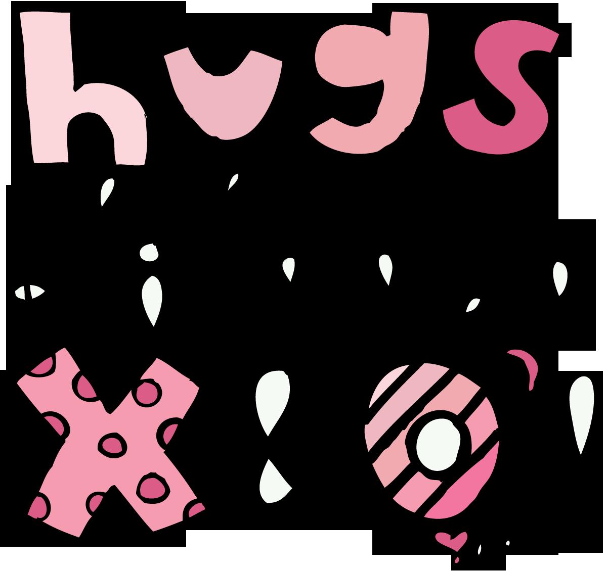Hug hug kiss