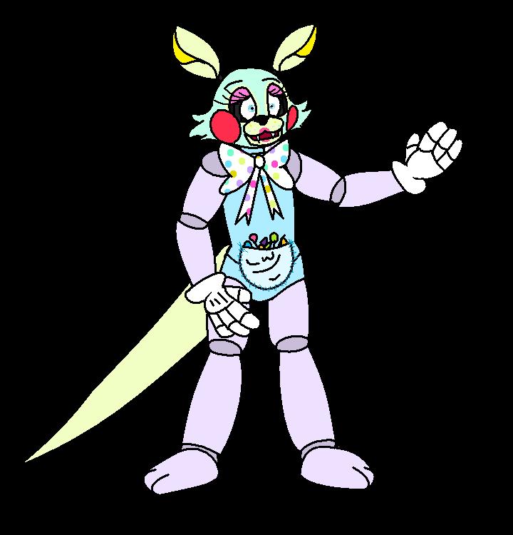 Candy the fnaf oc. Hug clipart kangaroo