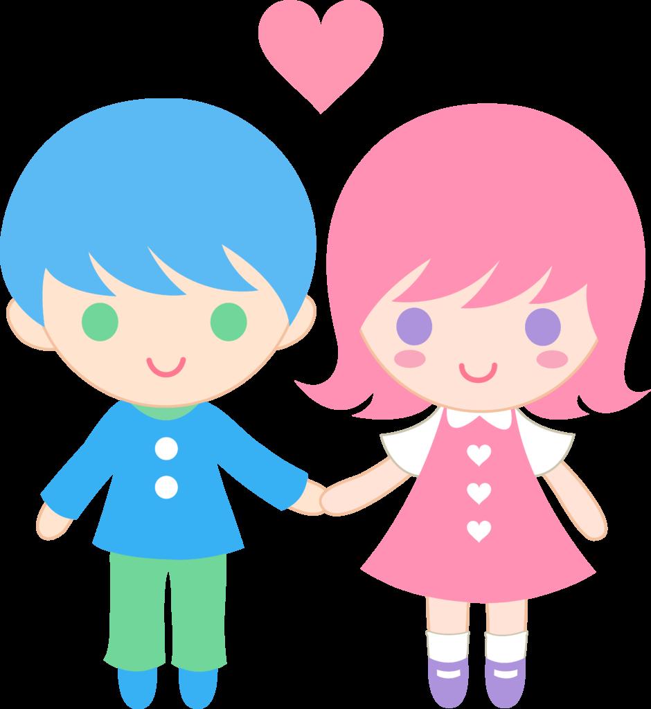 Hug clipart kid. Little girl and boy