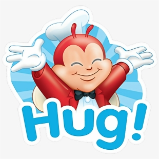 Hug clipart love hug. Hugging jollibee free cliparts