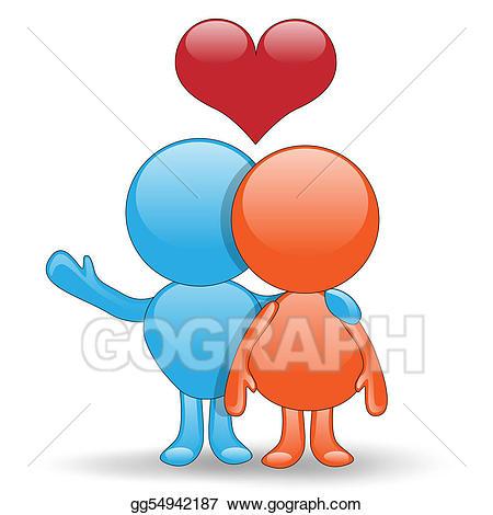 Stock illustration good luck. Hug clipart love hug