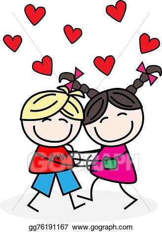 Hug clipart lover hug. Stock illustrations love hugs