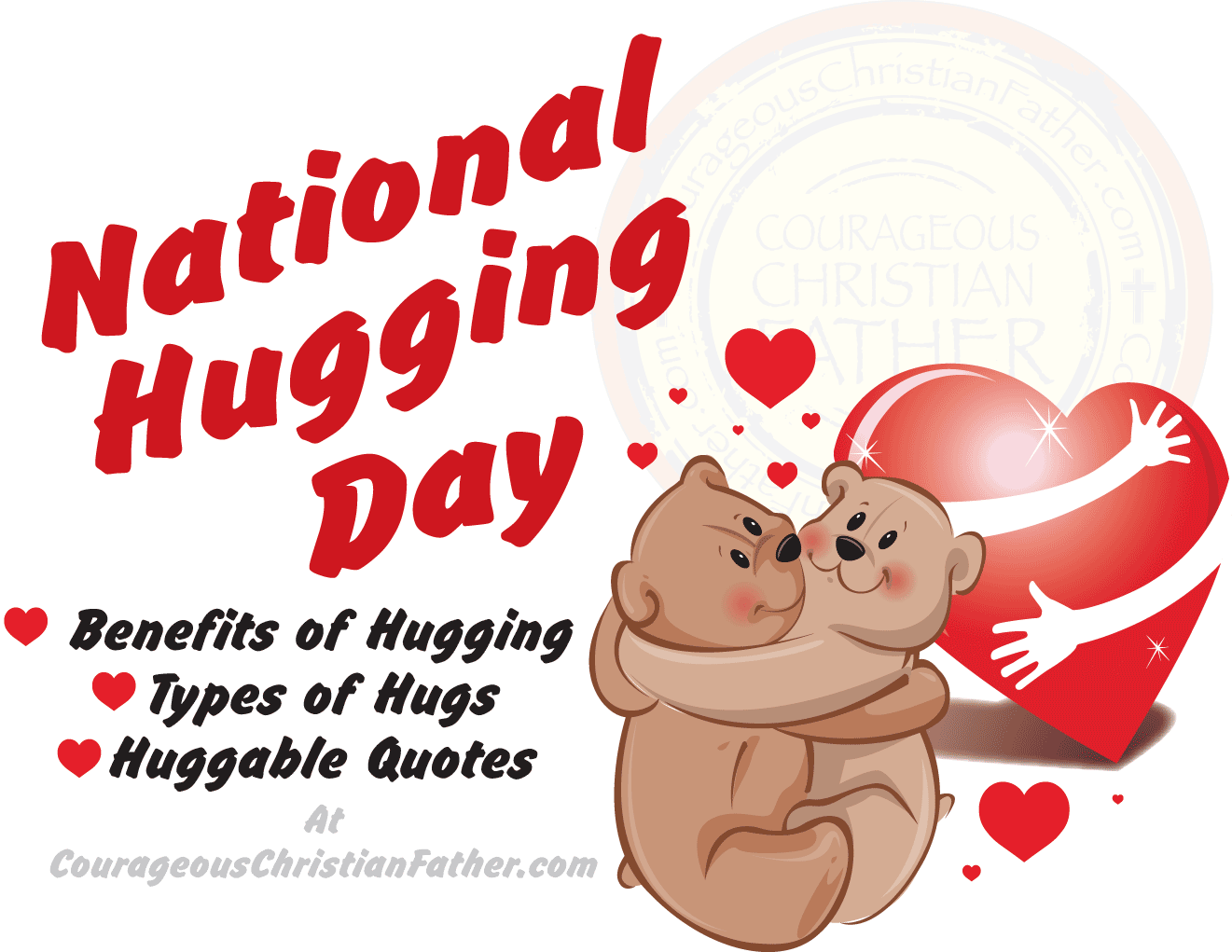 Hug clipart lover hug. National hugging day courageous
