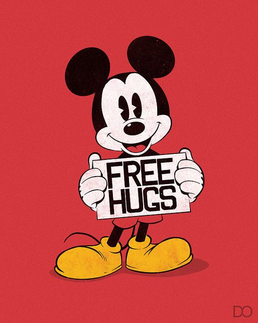 Hug clipart mickey mouse. Pin on disney crazy