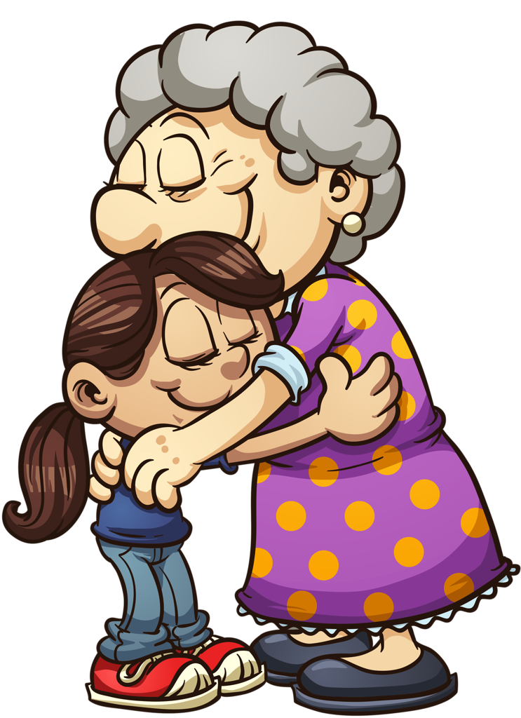 Free hugs campaign clip. Hug clipart mother child