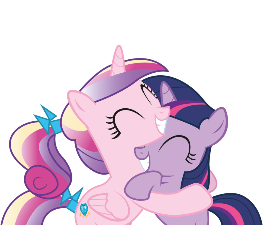 Cadence and twilight hugs. Hugging clipart pencil