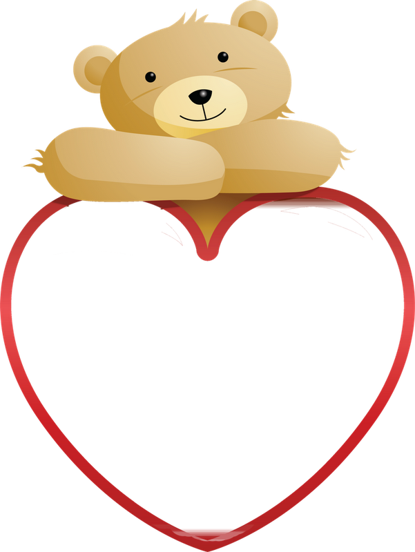 Hugging clipart teddy bear. And heart clip art