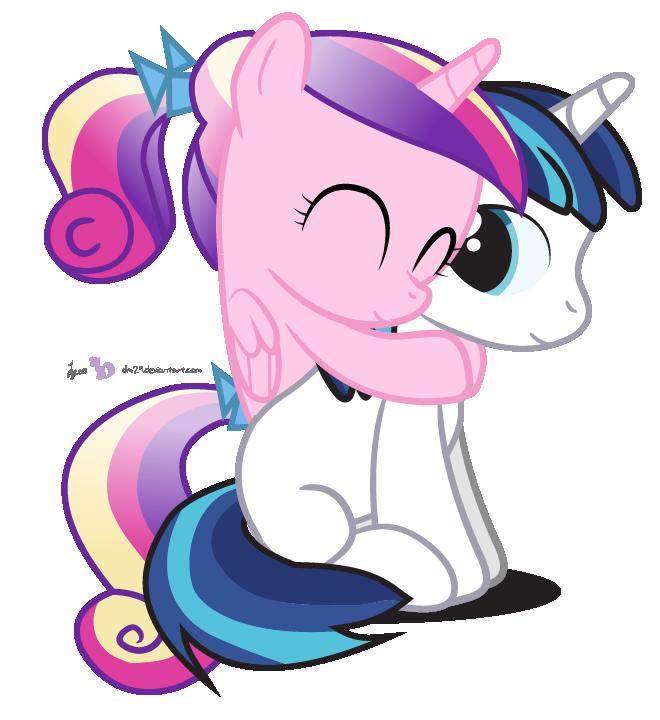 Royal my little pony. Hug clipart text