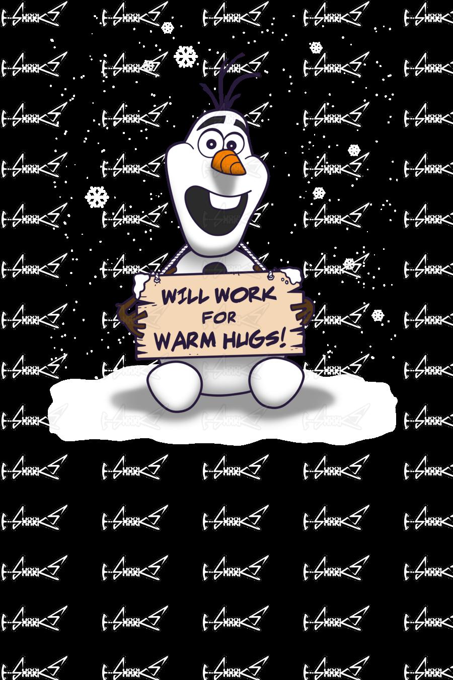 Olaf clipart warm hug. Will work for hugs