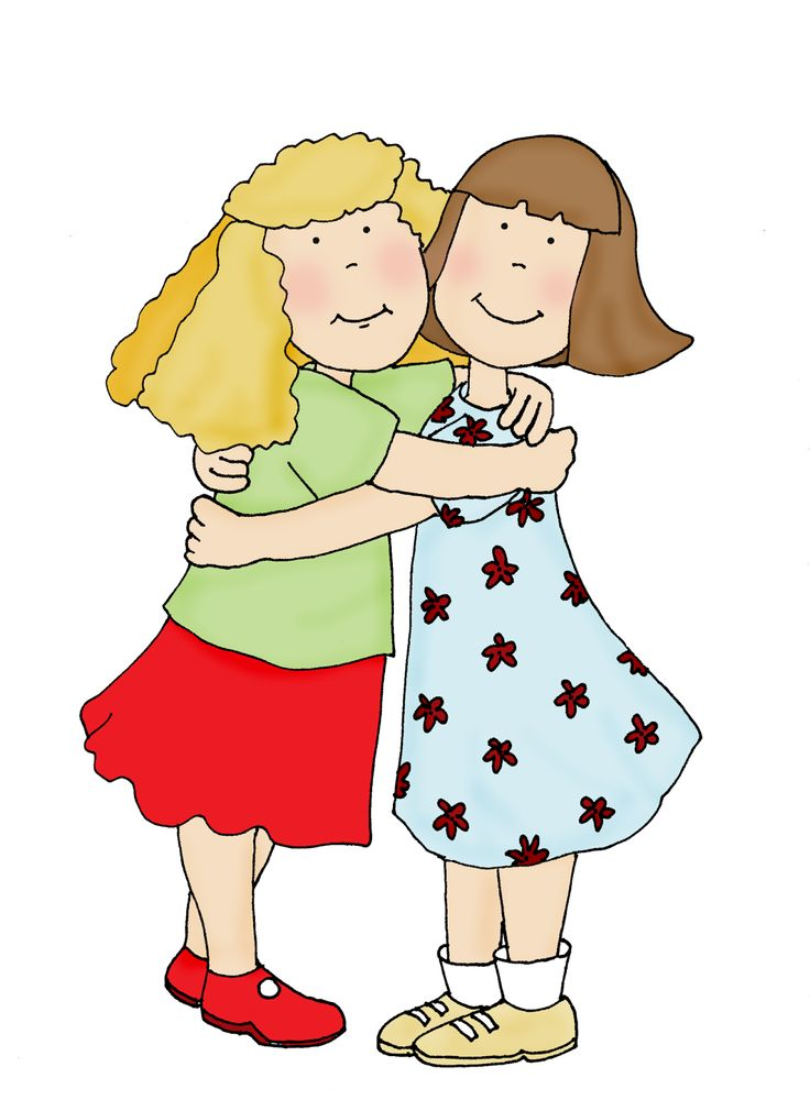 Hugging clipart. Free cliparts friendship hugs