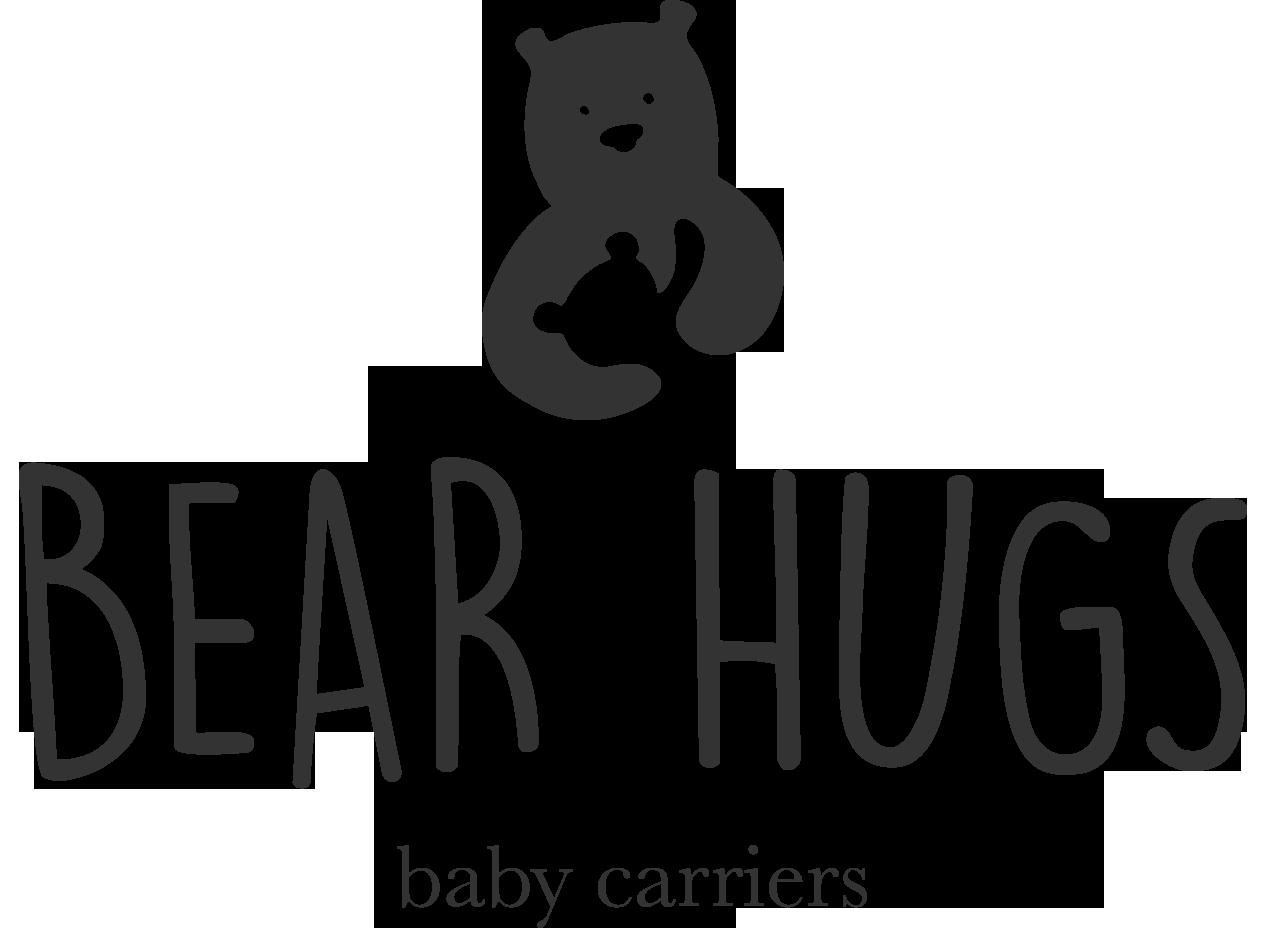 Bear hugs carriers home. Hugging clipart hug baby