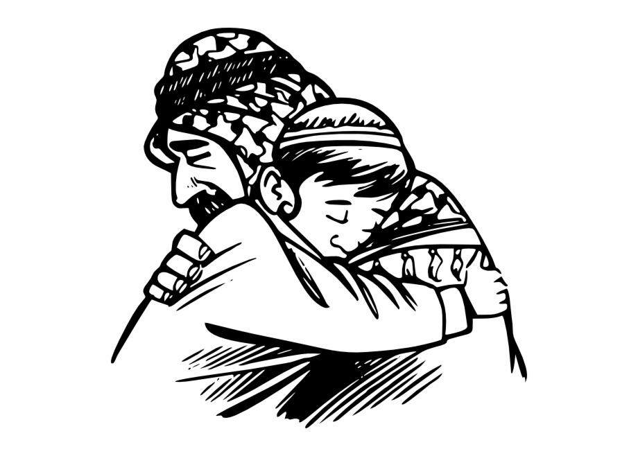 How to set use. Son clipart hugging