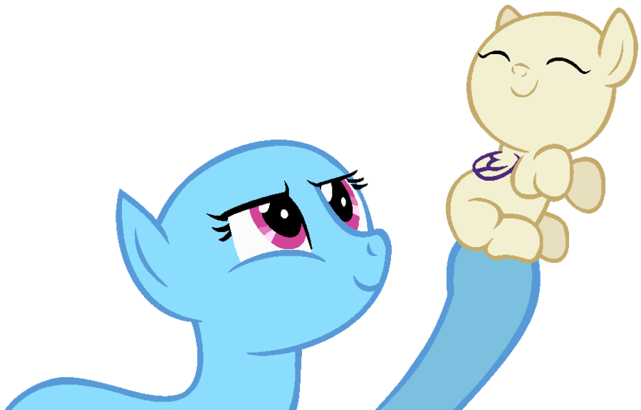 Mlp base and son. Mother clipart motherly
