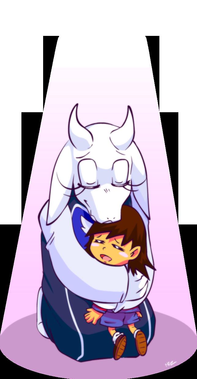 Toriel it s best. Hugging clipart motherly