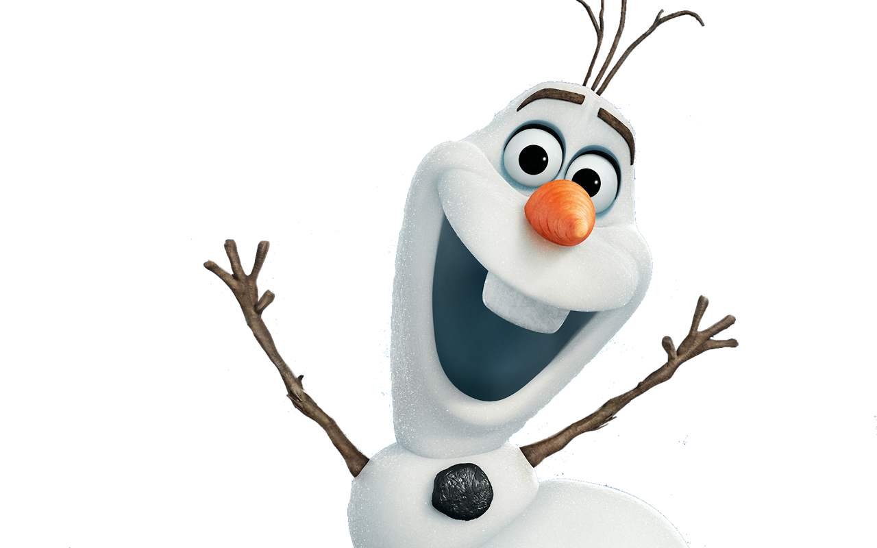Disney character frozen blanco. Olaf clipart white background