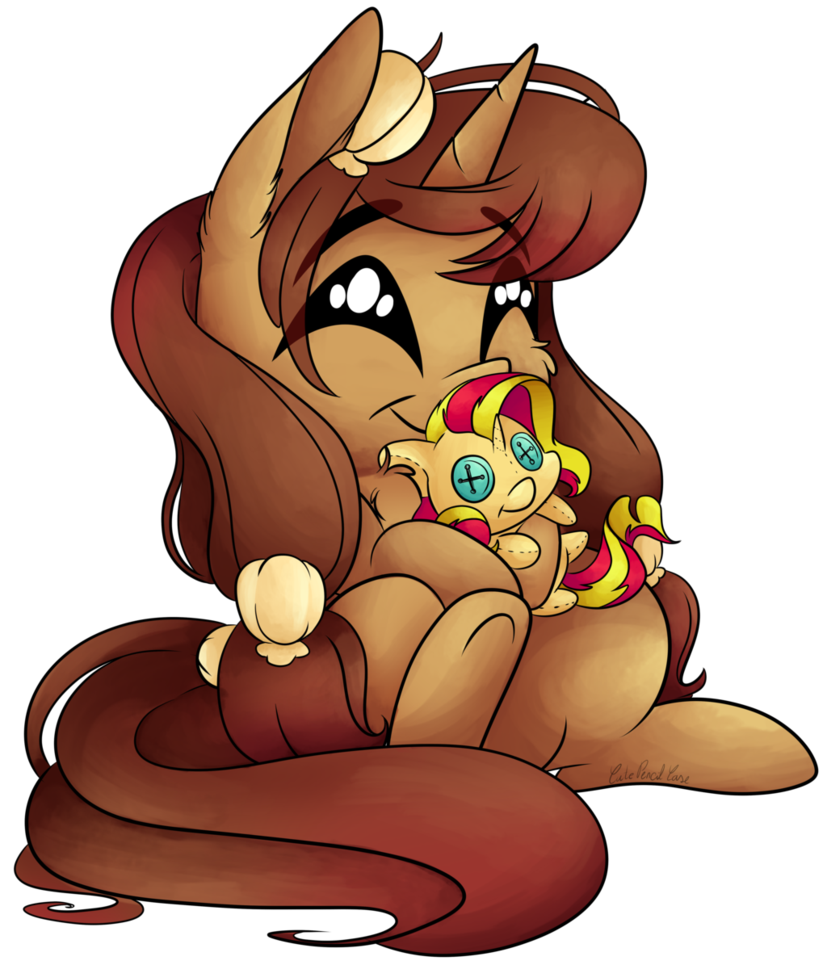 Ych plushie hug by. Hugging clipart pencil