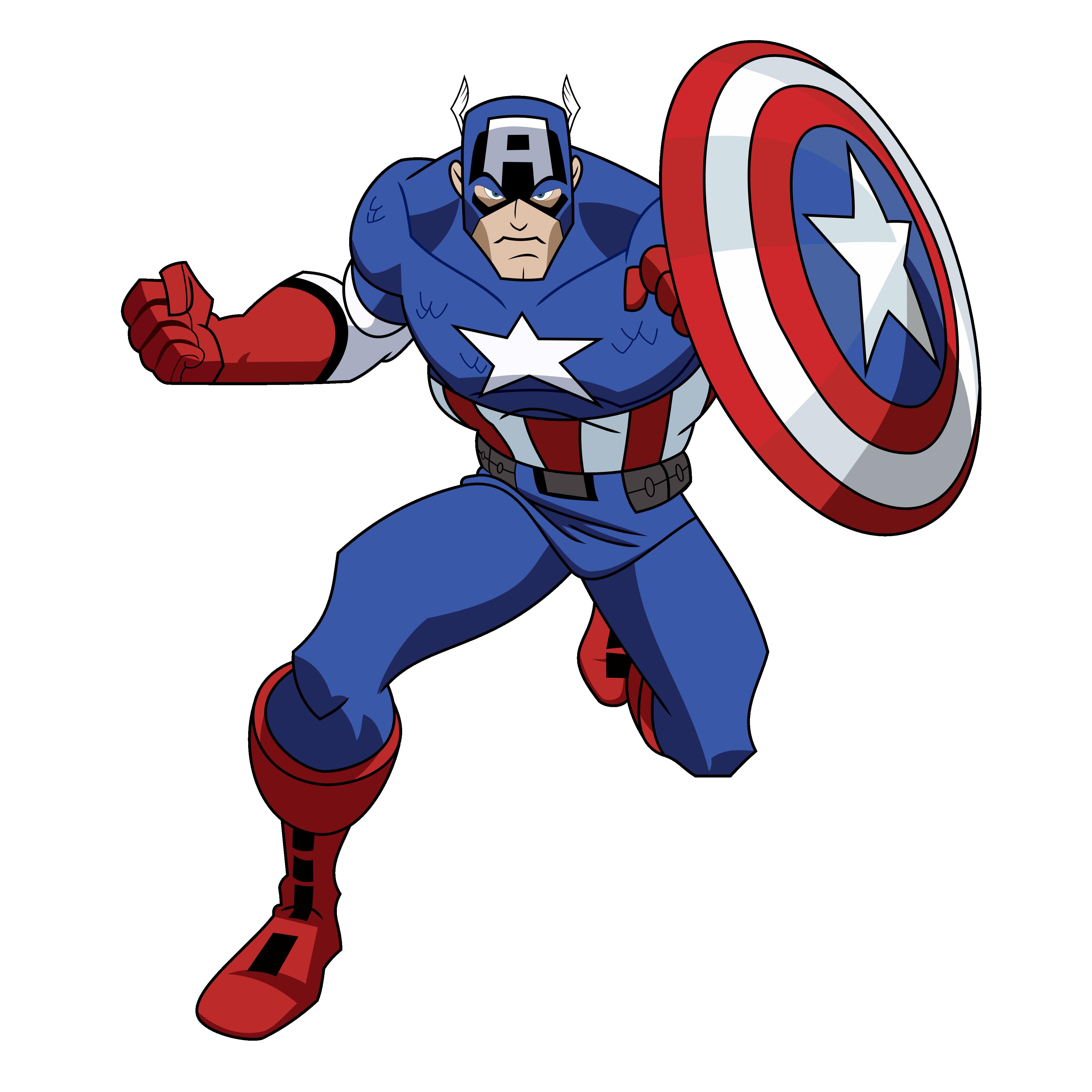Wheel clipart captain. America images qygjxz