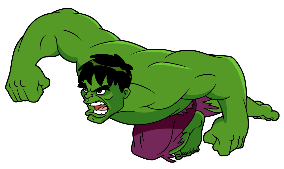 Marvel Animation Age - Avengers Earth's Mightiest Heroes Hulk - Free  Transparent PNG Clipart Images Download