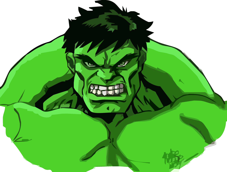 Thunderbolt ross cartoon clip. Hulk clipart drawing