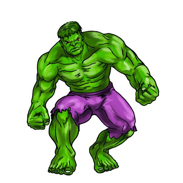 Clip art she transprent. Hulk clipart drawing