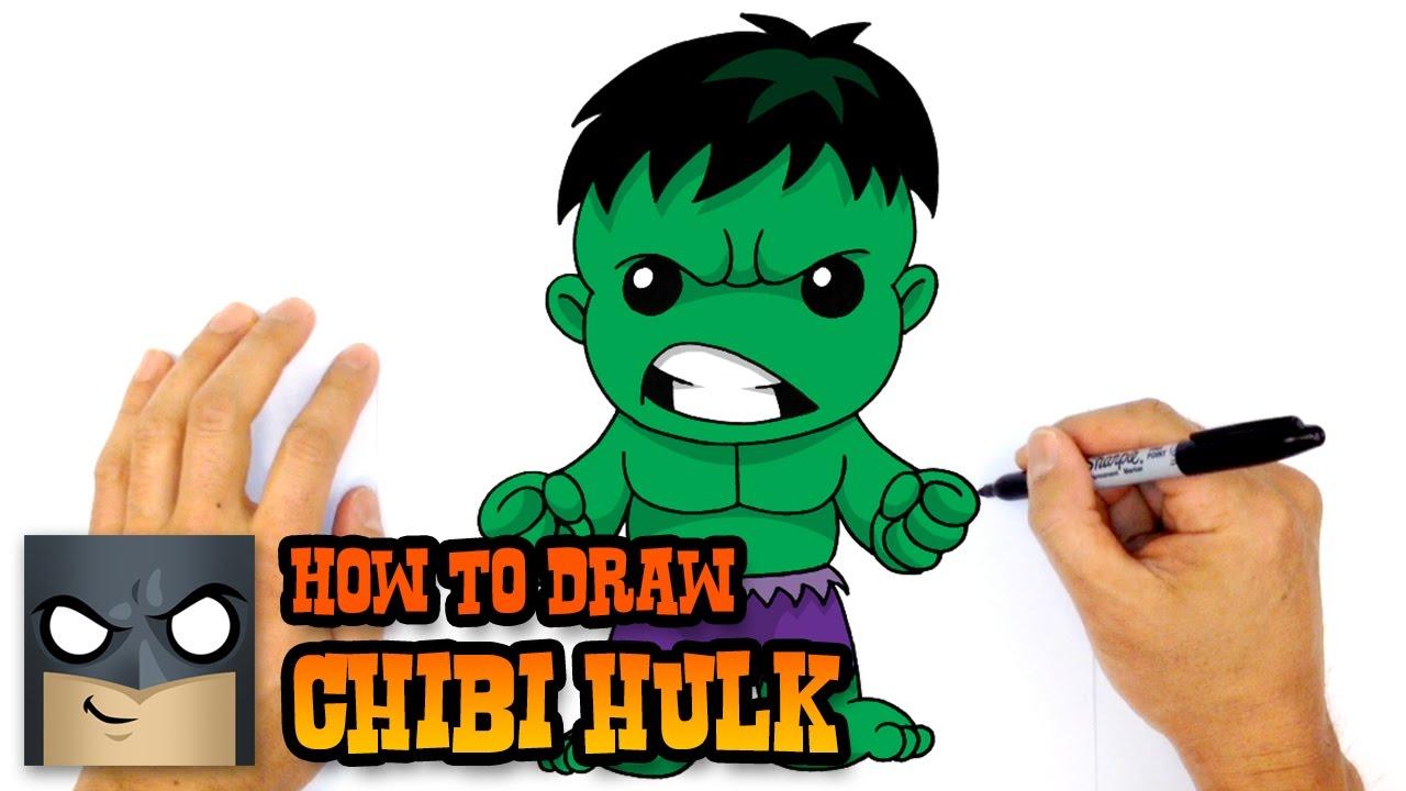 How to draw the. Hulk clipart easy cartoon