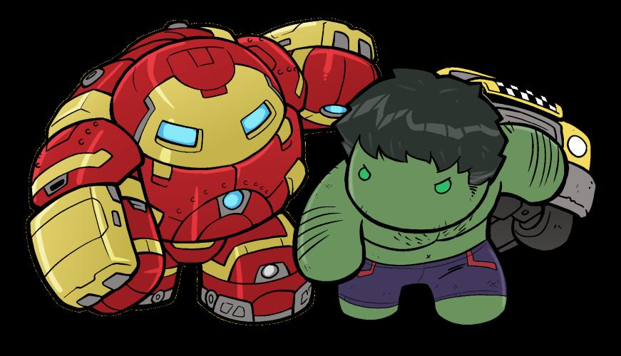 Hulk clipart easy cartoon. Too cute to fight